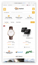 BigMarket Magento Multi Vendor Theme