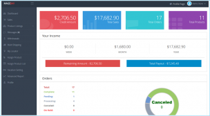 Marketplace Seller Dashboard Theme