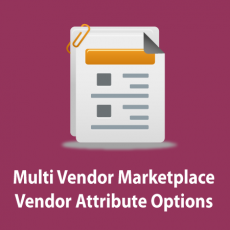 Magento Marketplace Vendor Attribute Options Management