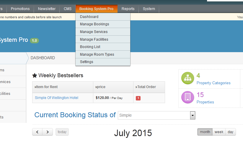 Magento Booking & Reservation System - Magento Hotel Booking