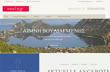 Magento Booking for Aegean Holiday