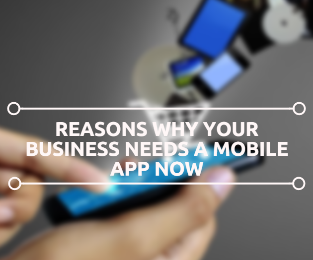 Reasons Why Your Business Needs A Mobile App Now