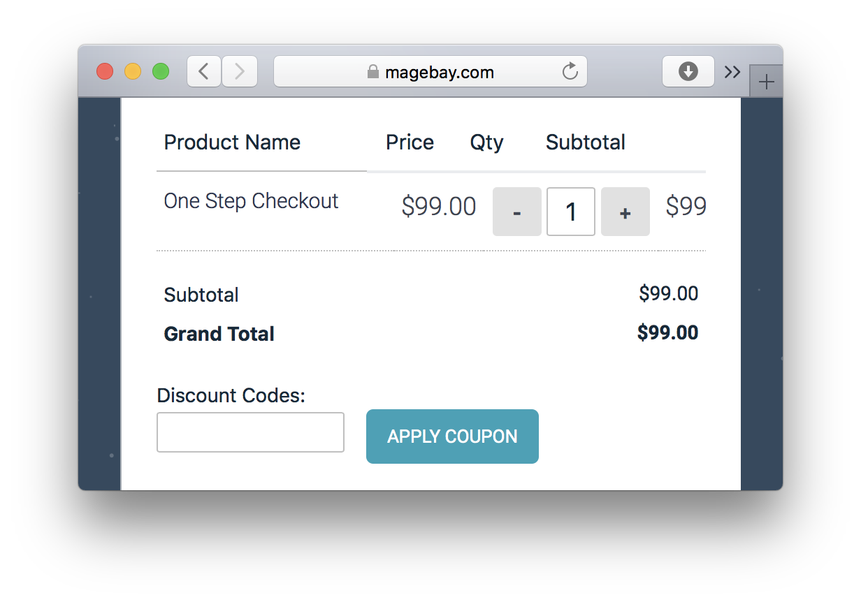 Magebay One Page Checkout Magento Extension
