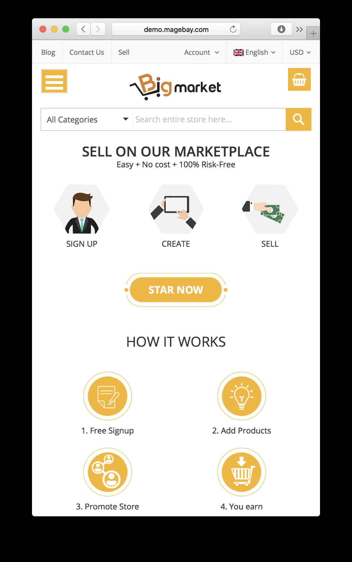 Magento 2 Multivendor Marketplace Extension