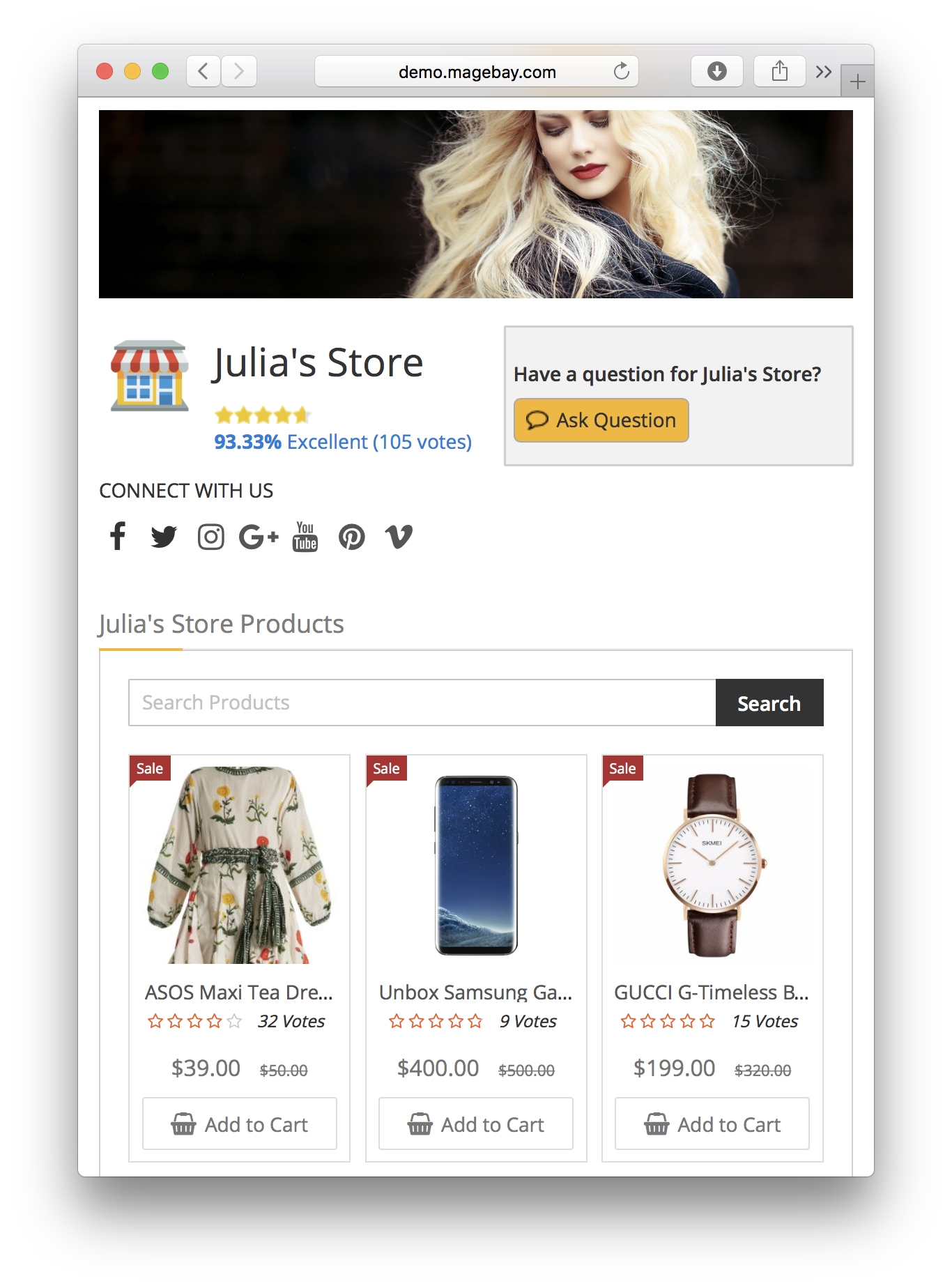 Magento 2 Multivendor Marketplace Extension