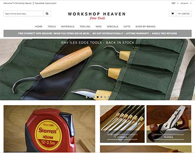 Magento checkout on workshopheaven