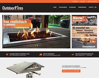 Magento checkout on outdoorfires