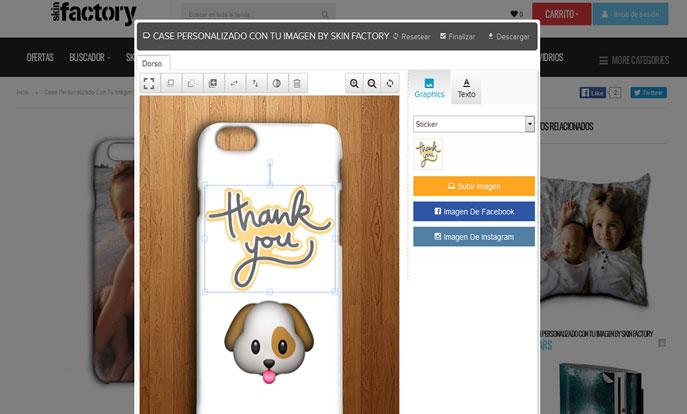 Magento Phone Case Designer