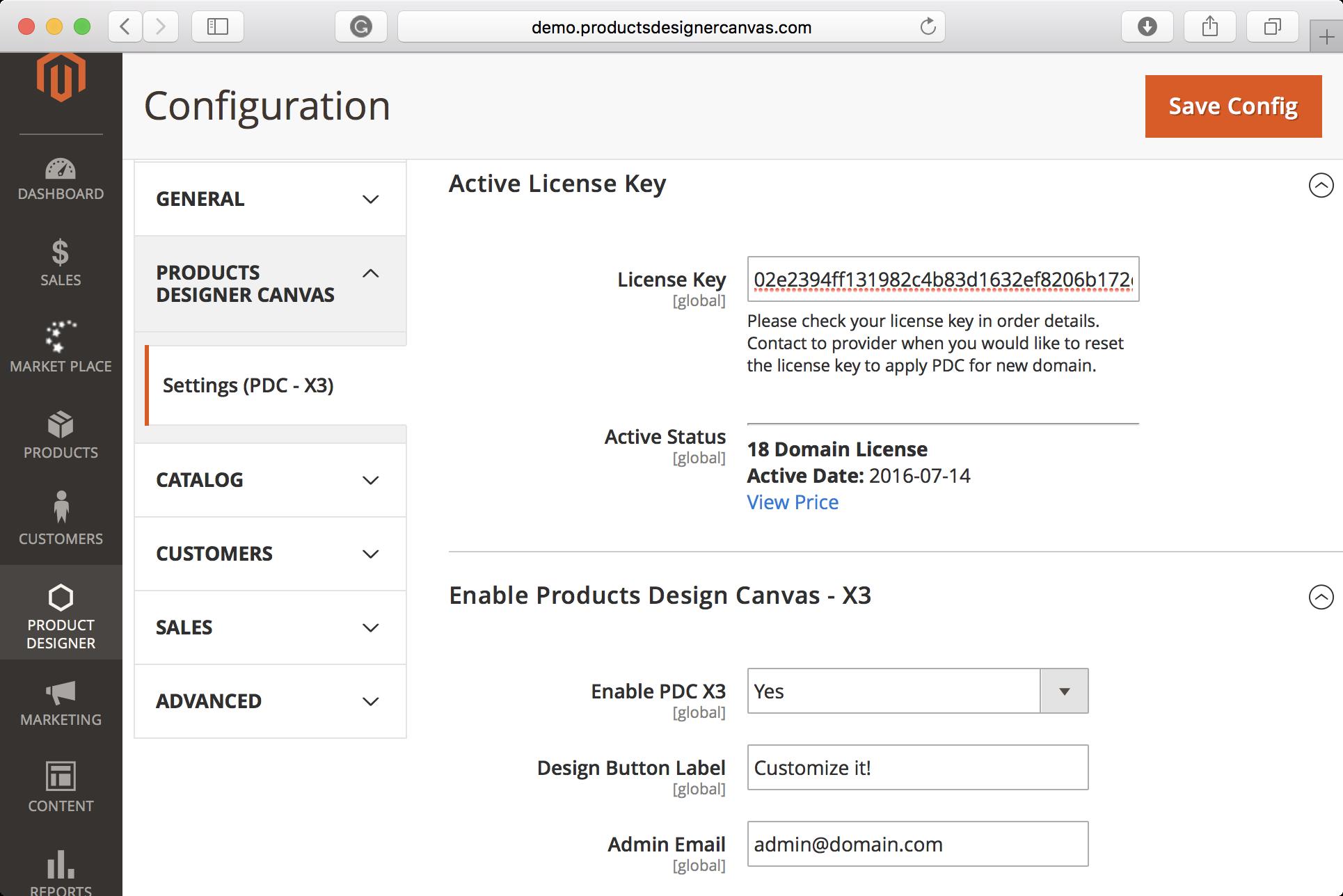 Magento HTML5 Product Designer